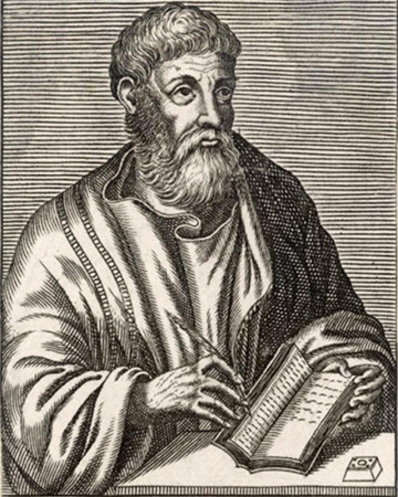 Greek rhetorician Libanius.