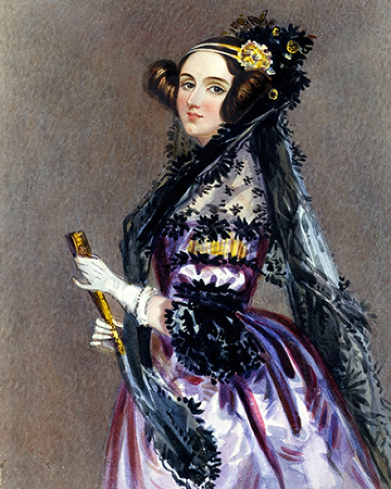 English mathematician and writer Ada Lovelace.
