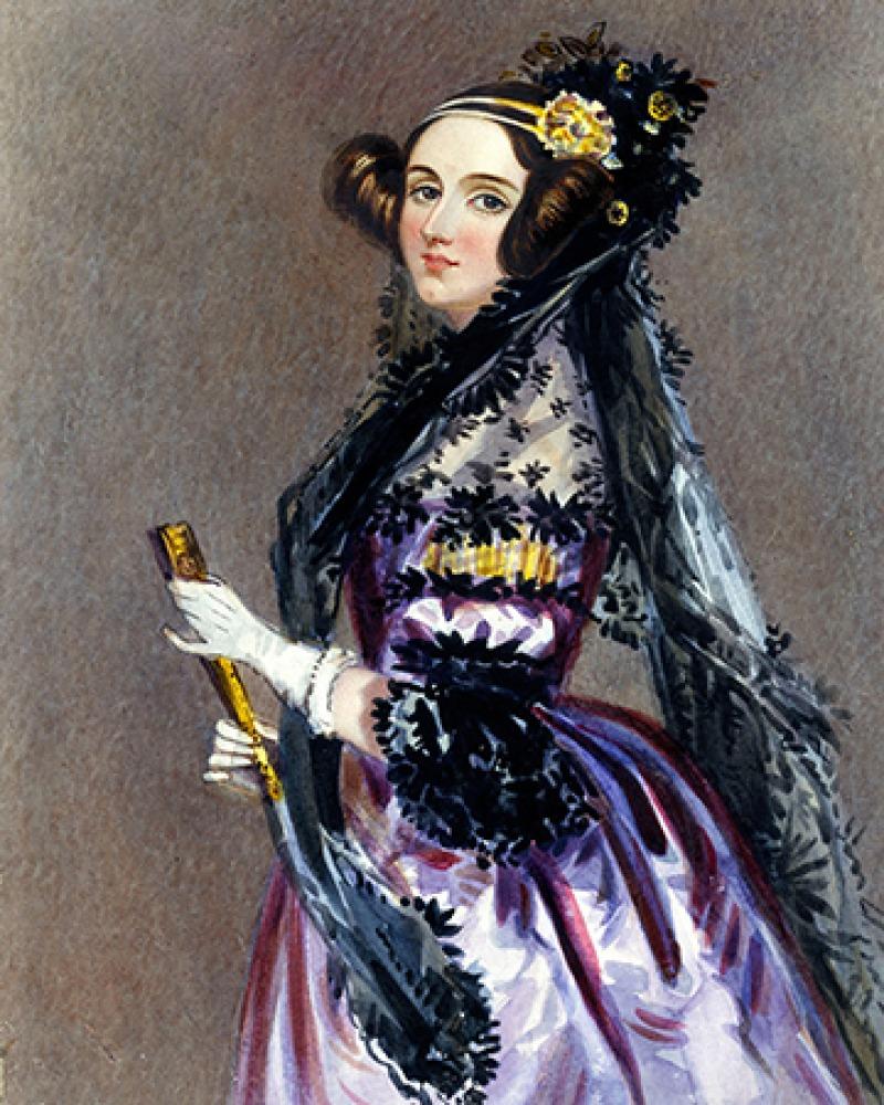 English mathematician and writer Ada Lovelace.