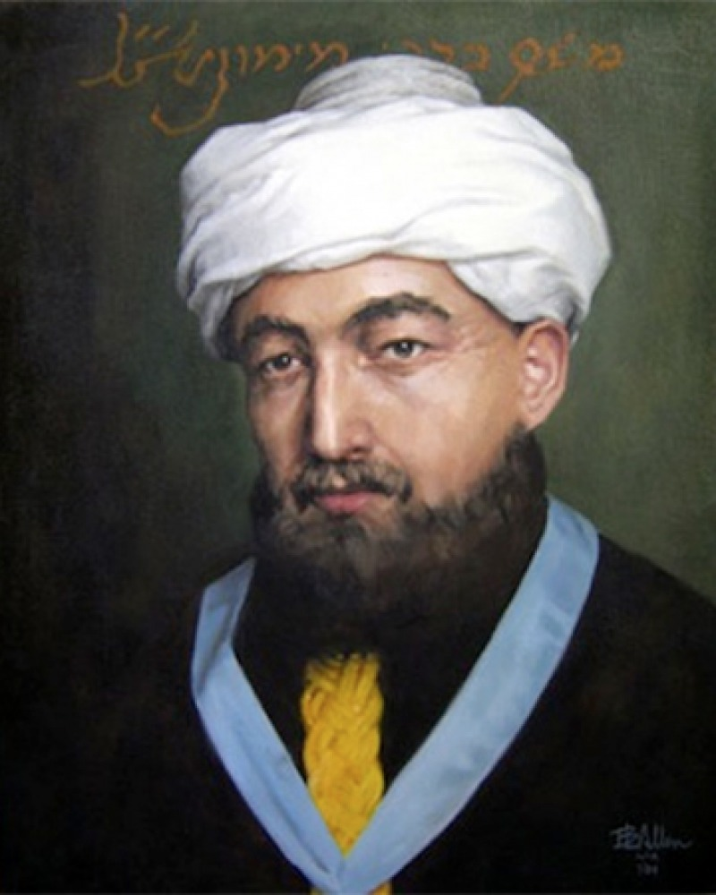 Jewish philosopher, jurist, and physician Moses Maimonides.