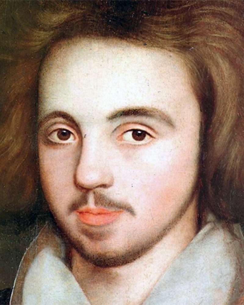 English writer Christopher Marlowe.