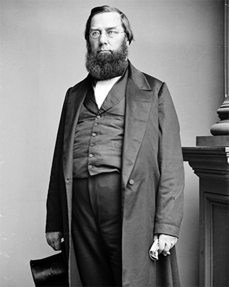 American diplomat, scholar, and conservationist George Perkins Marsh.