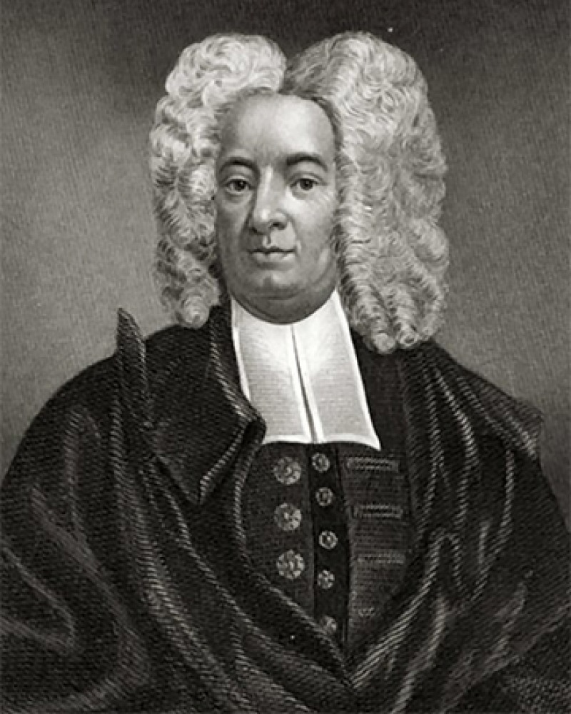 American Congregational minister Cotton Mather.