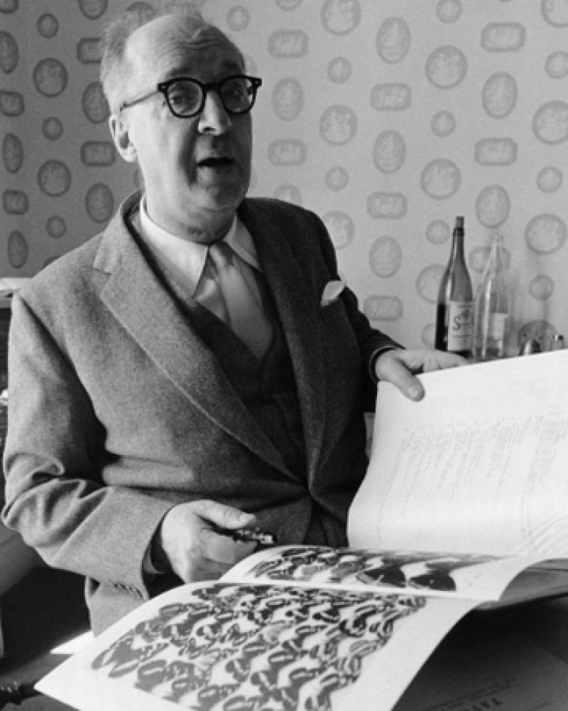 Photograph of Vladimir Nabokov