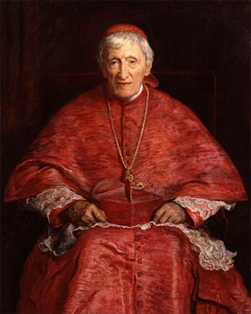 British churchman and man of letters John Henry Newman.