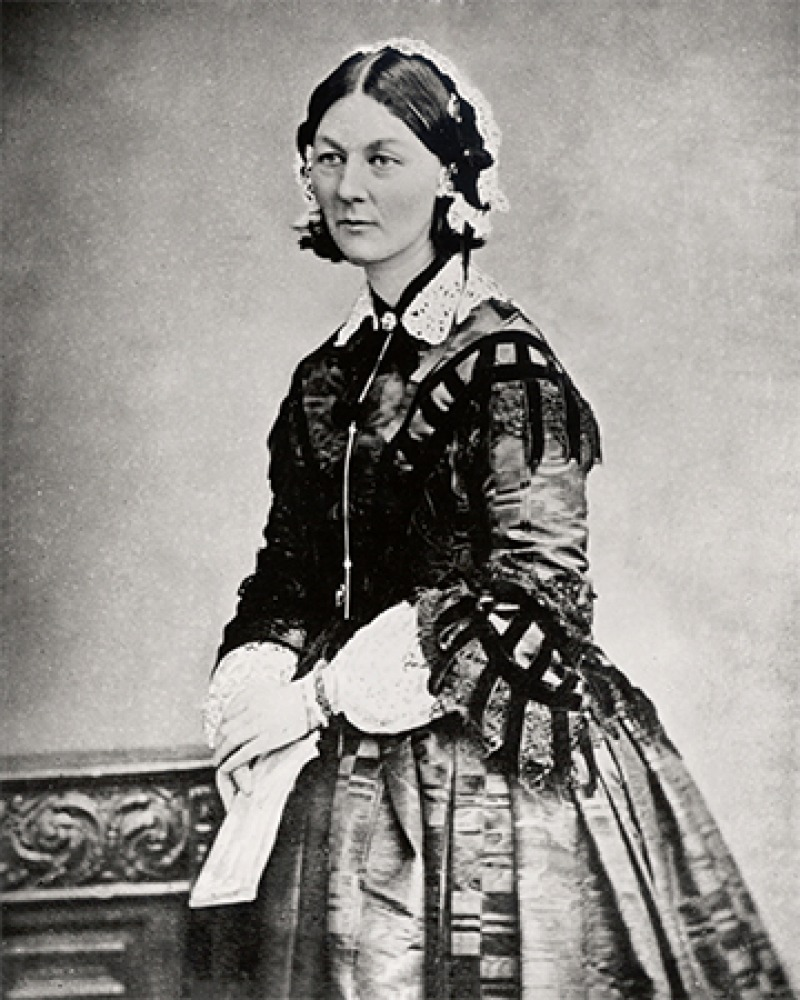 English nurse Florence Nightingale.