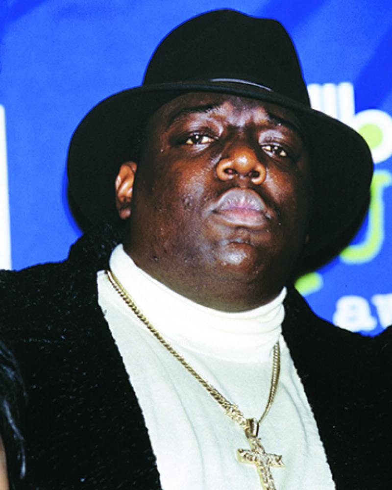 Notorious B.I.G. (© MediaPunch Inc./Alamy Stock Photo)