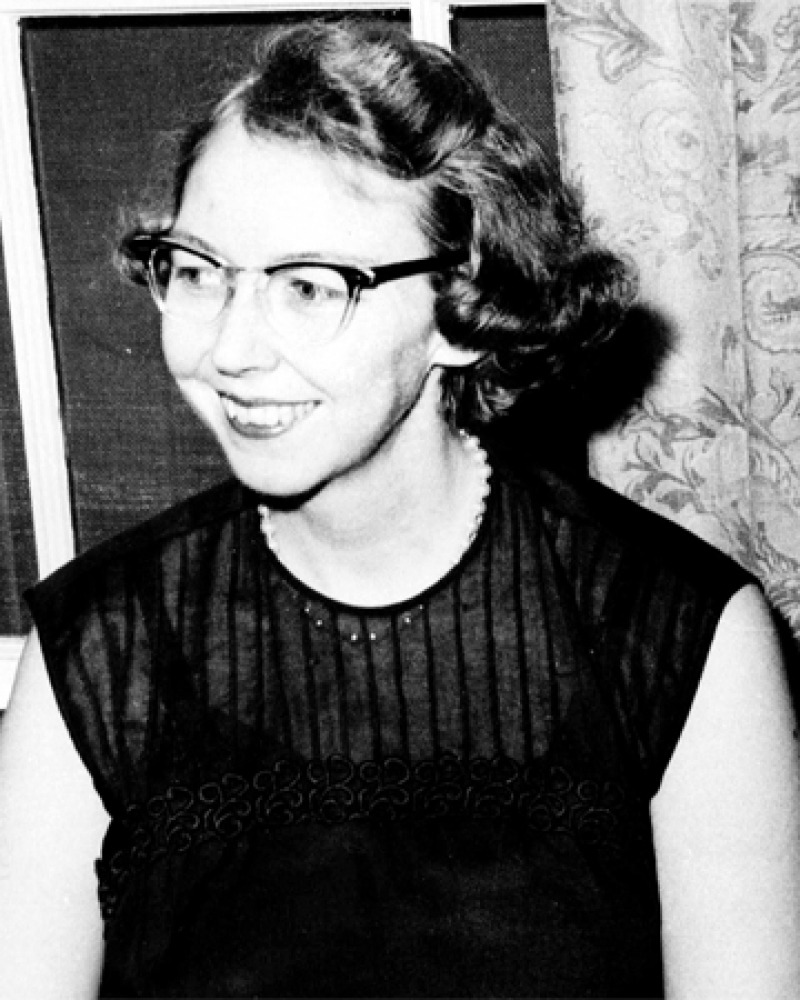 a biography of mary flannery oconnor an american writer and essayist Flannery o'connor and catholic realism this past june 3, miss mary flannery o'connor of for if any modern american writer was better attuned to the.