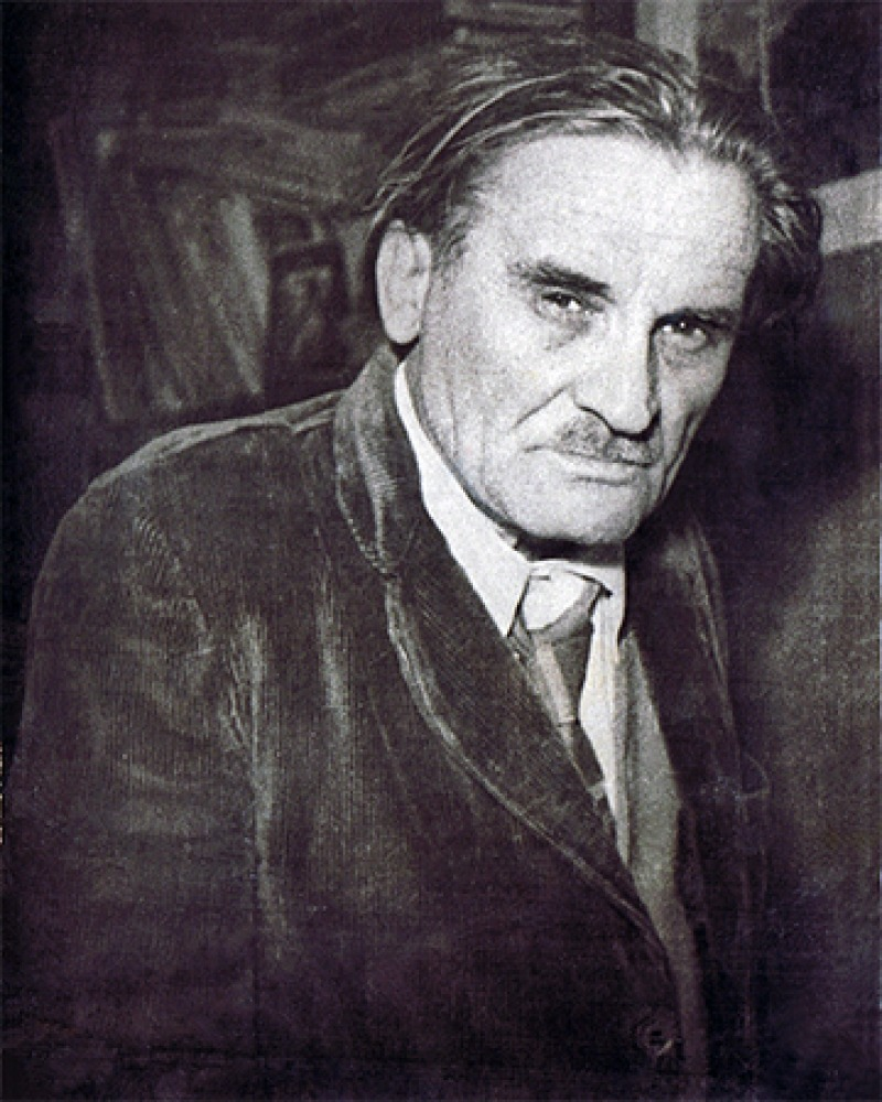 Russian writer Yuri Olesha.