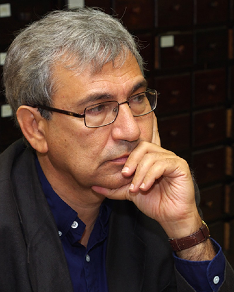 Turkish author Orhan Pamuk.