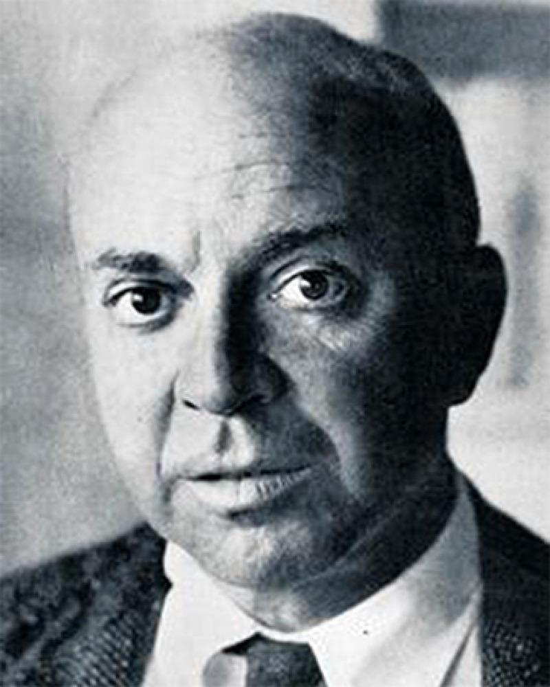 American novelist John Dos Passos.