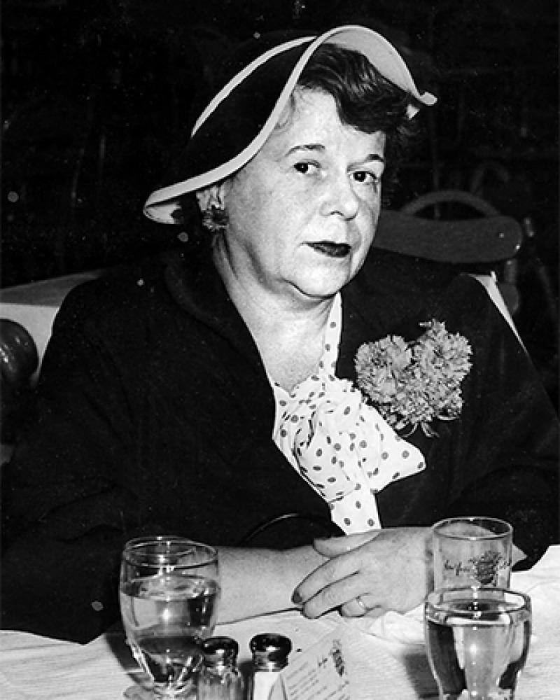 American writer Dawn Powell.