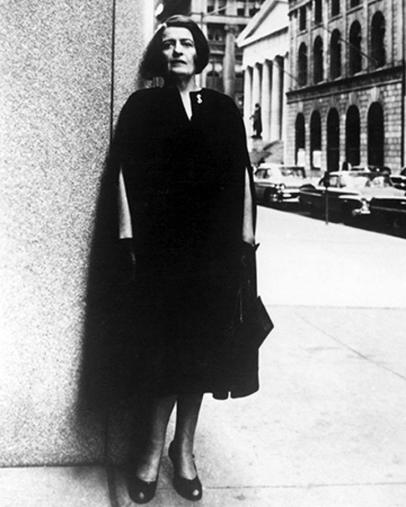 Ayn Rand (Everett Collection Inc./Alamy Stock Photo)