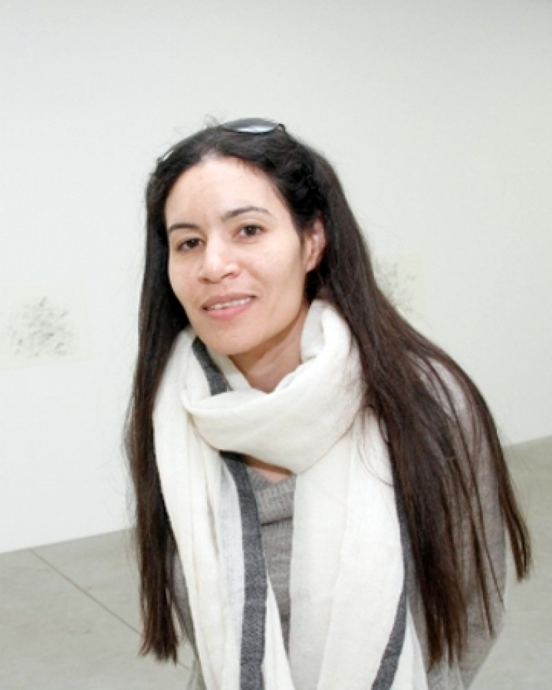 Photograph of Egyptian writer Yasmine El Rashidi.
