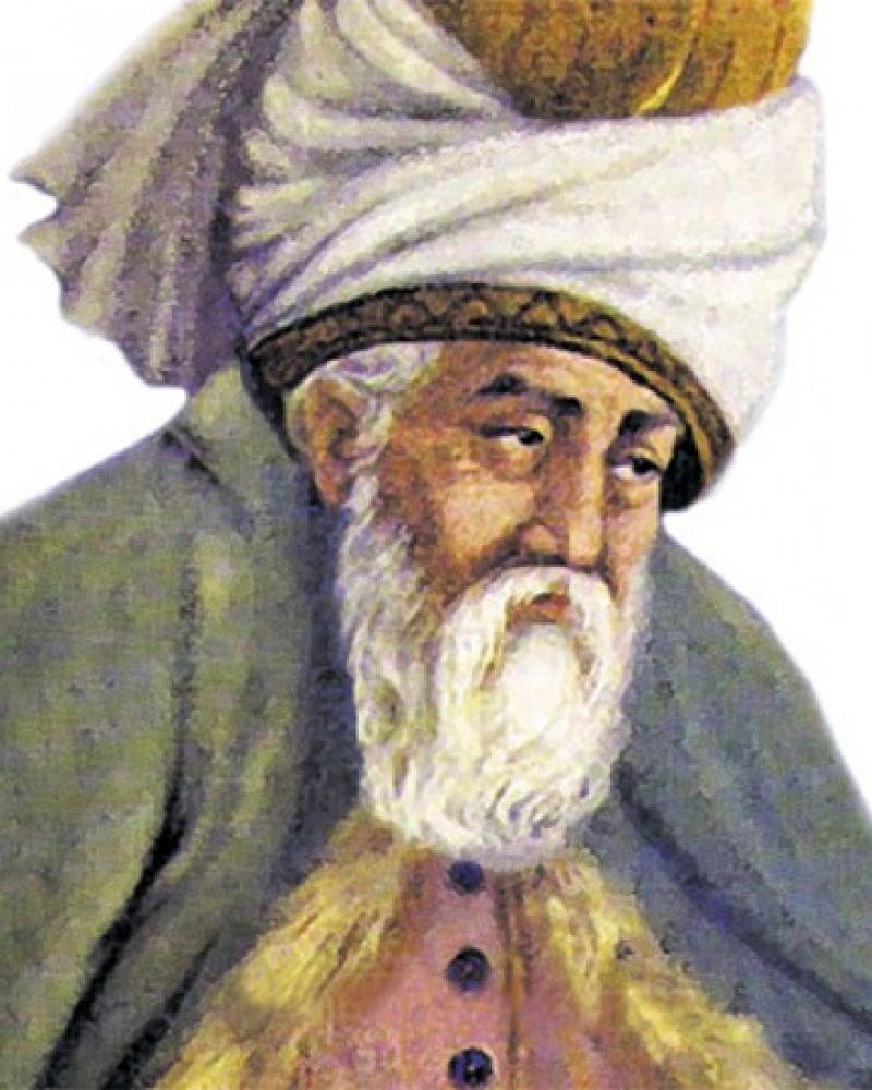 Sufi mystic and poet Rumi.