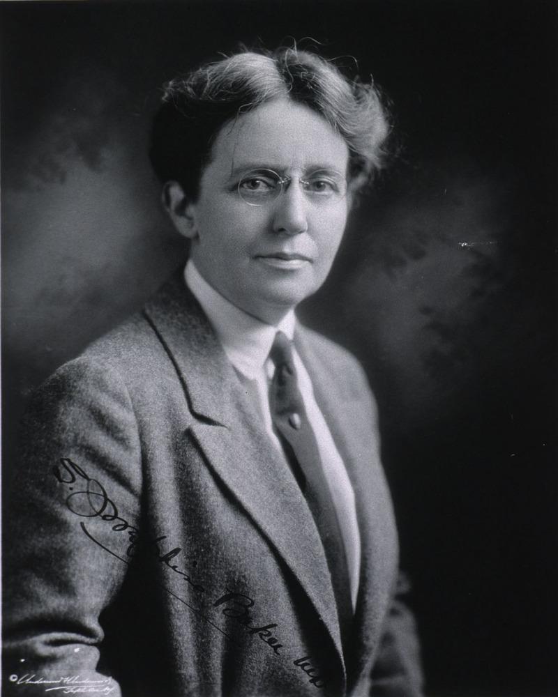 Photograph of S. Josephine Baker