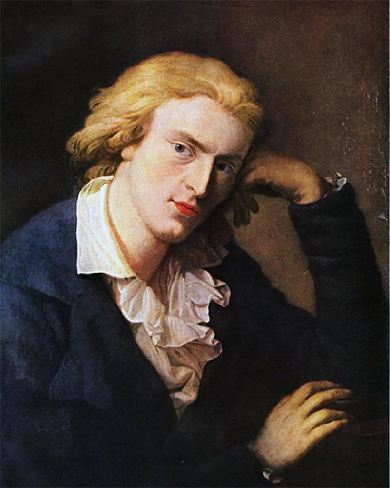 German writer Friedrich Schiller.