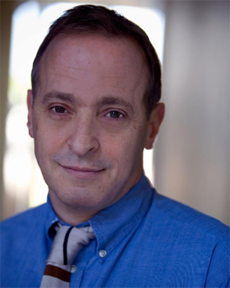 Photograph of American humorist and author David Sedaris.