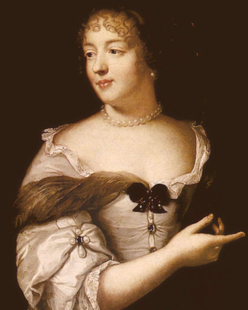Marie de Rabutin-Chantal, Marquise de Sévigné, by Claude Lefèbvre, c. 1665.