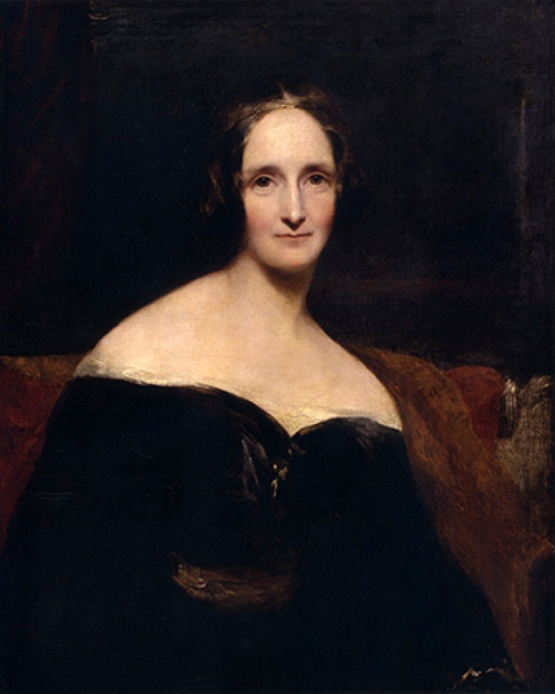 British author Mary Shelley.