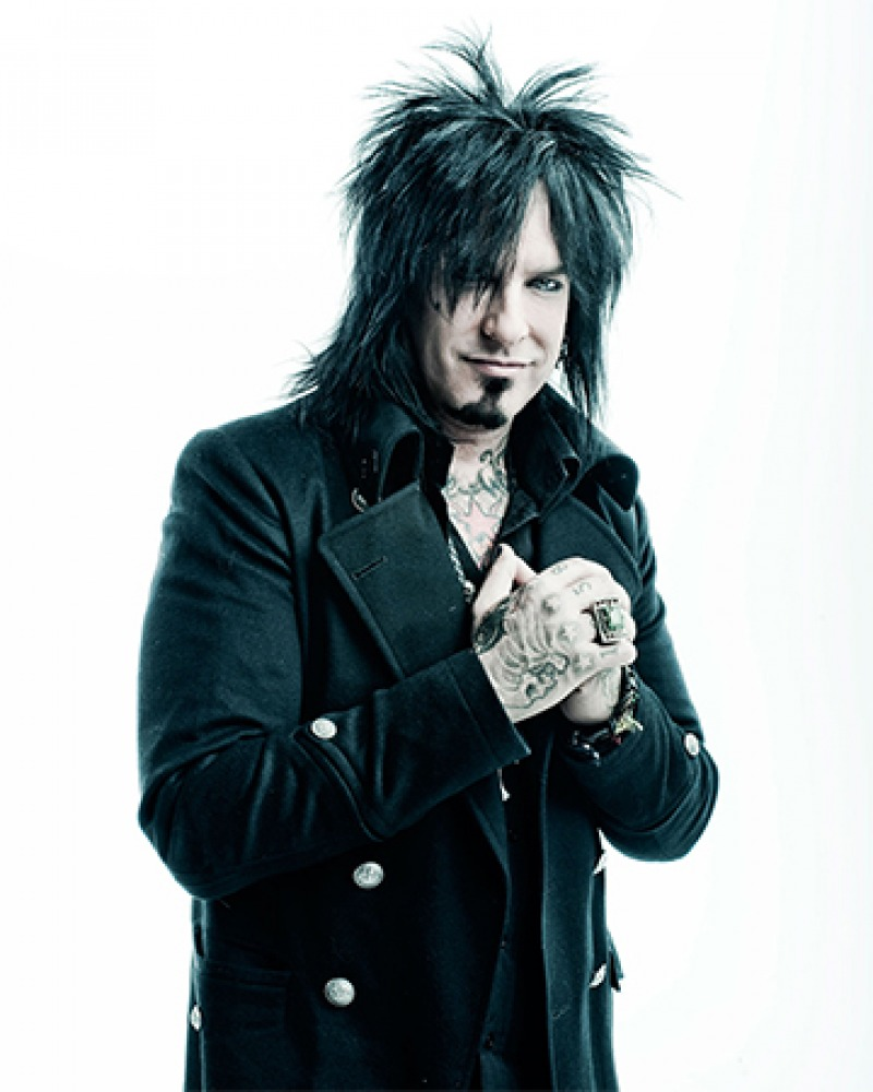 American musician, songwriter, and co-founder of Mötley Crüe Nikki Sixx.