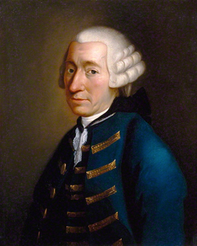 Scottish novelist Tobias Smollett.