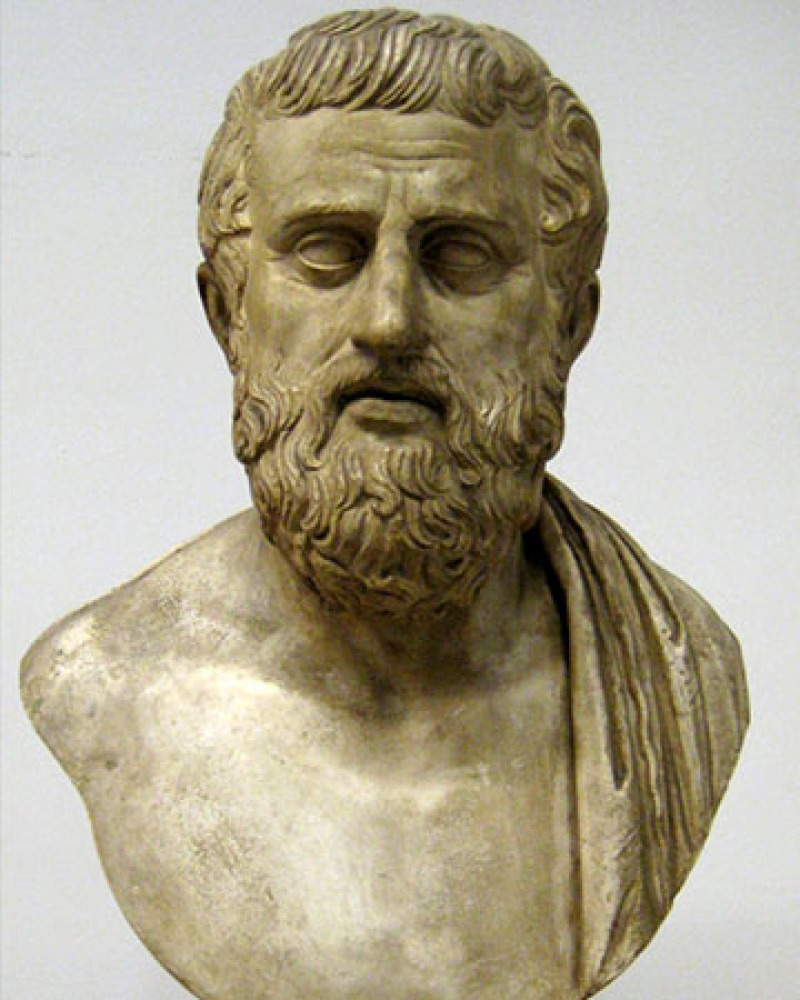 Greek dramatist Sophocles.