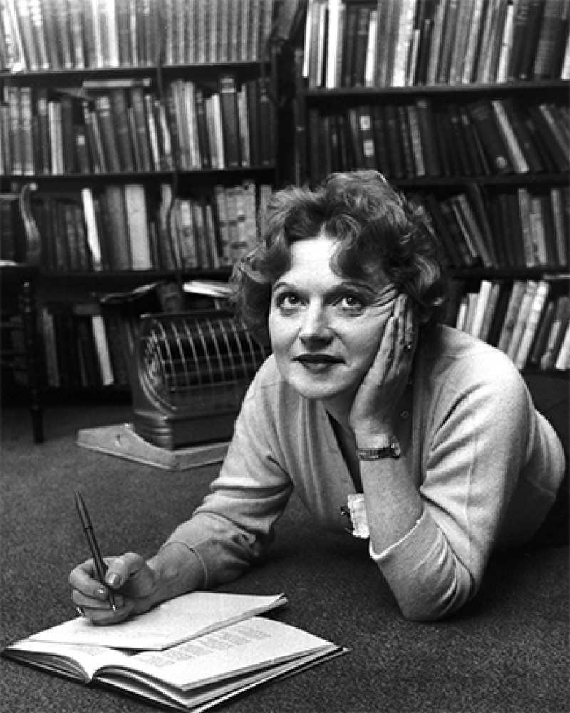 British writer Muriel Spark.