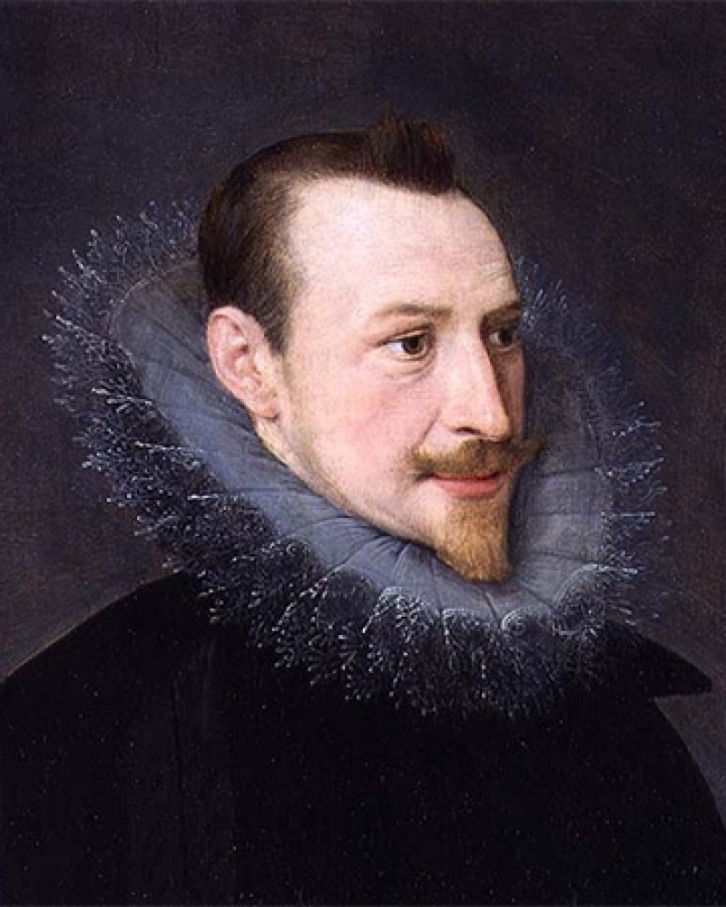 English poet Edmund Spenser.