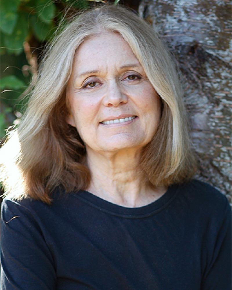 American feminist, activist, and editor Gloria Steinem.
