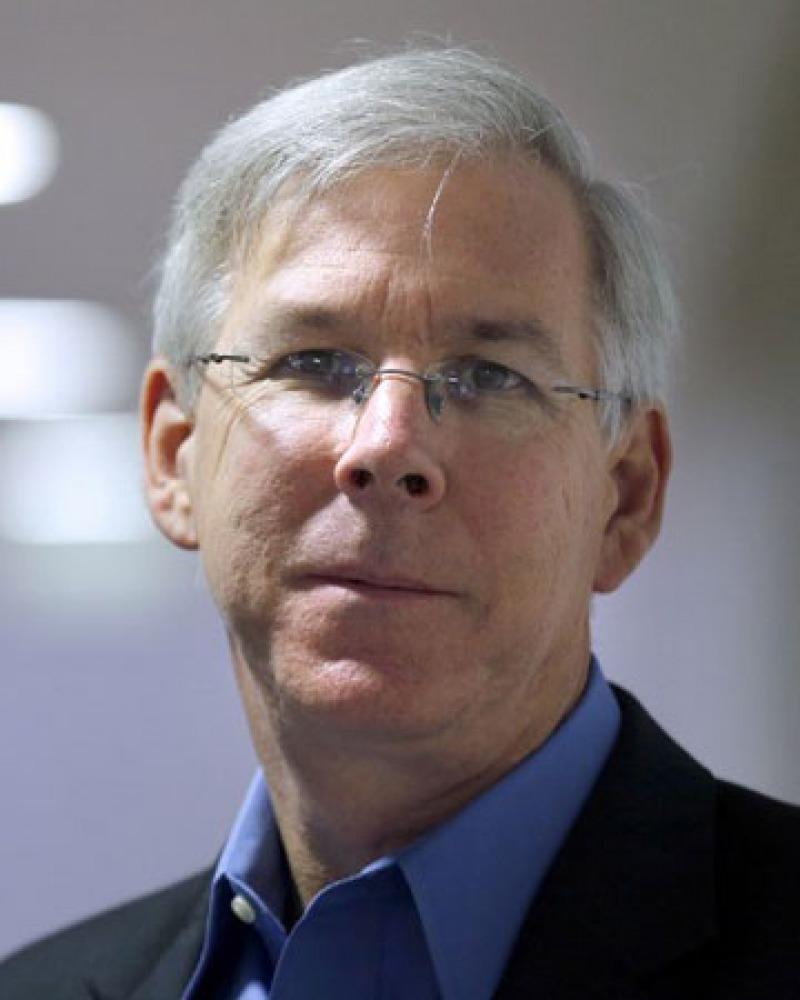 New York Times editor Richard W. Stevenson.
