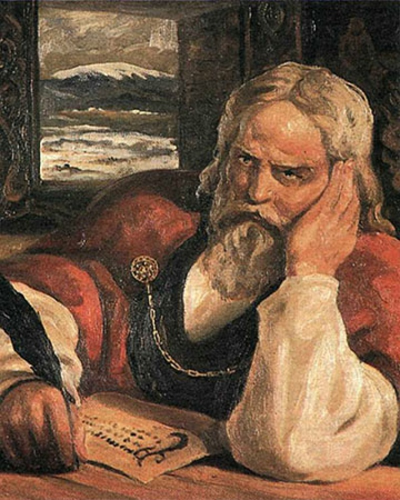 Icelandic historian, poet, and statesman Snorri Sturluson.