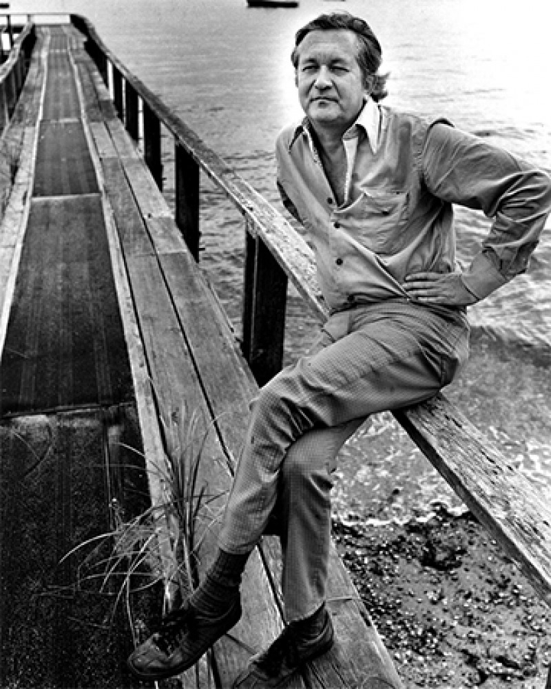 American writer William Styron.