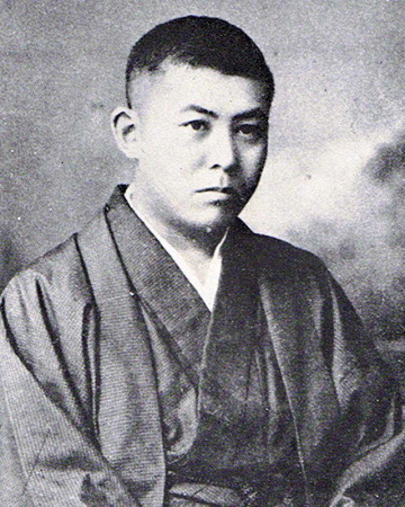 Japanese author Tanizaki Juni'chirō.