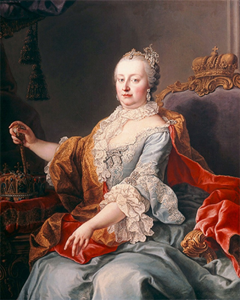 Holy Roman empress Maria Theresa.