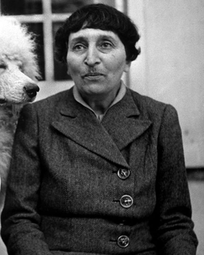 American author Alice B. Toklas.