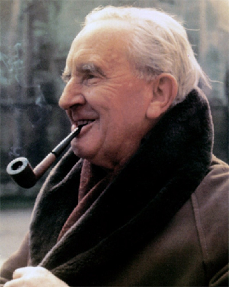 English writer and scholar J.R.R. Tolkien.