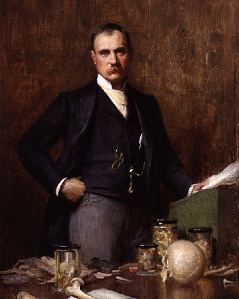 British surgeon Frederick Treves.