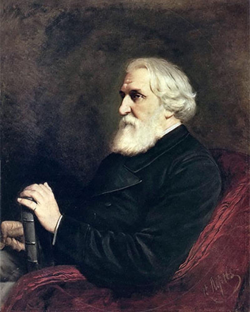 Russian author Ivan Turgenev.