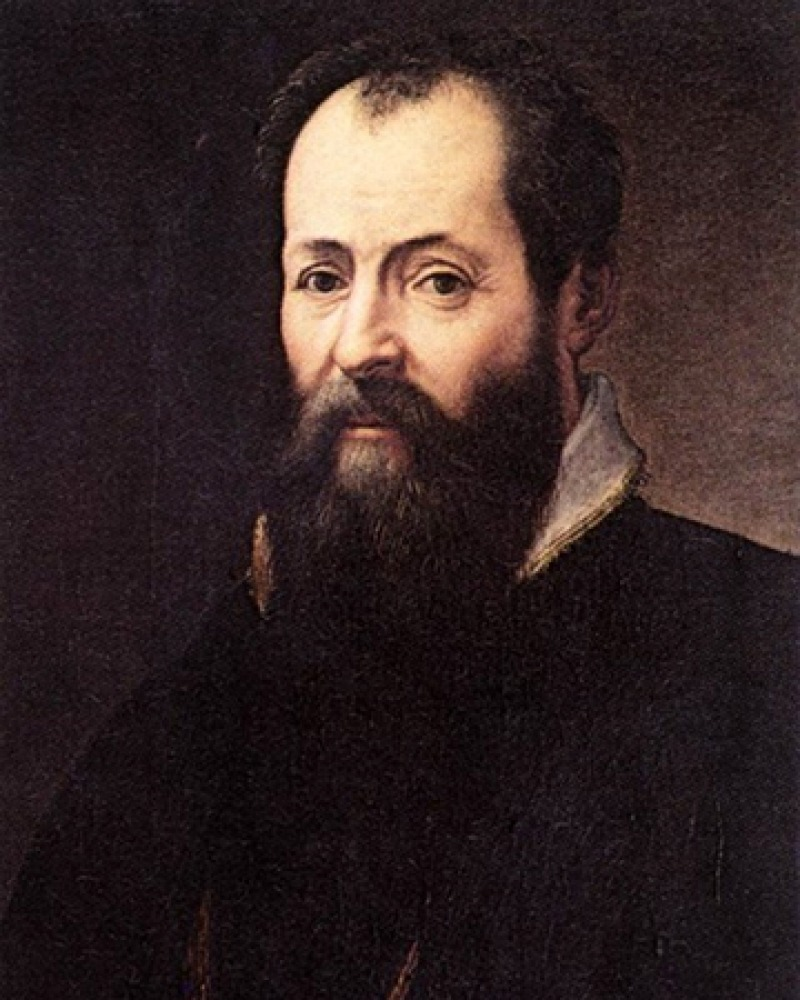 Italian artist and author Giorgio Vasari.