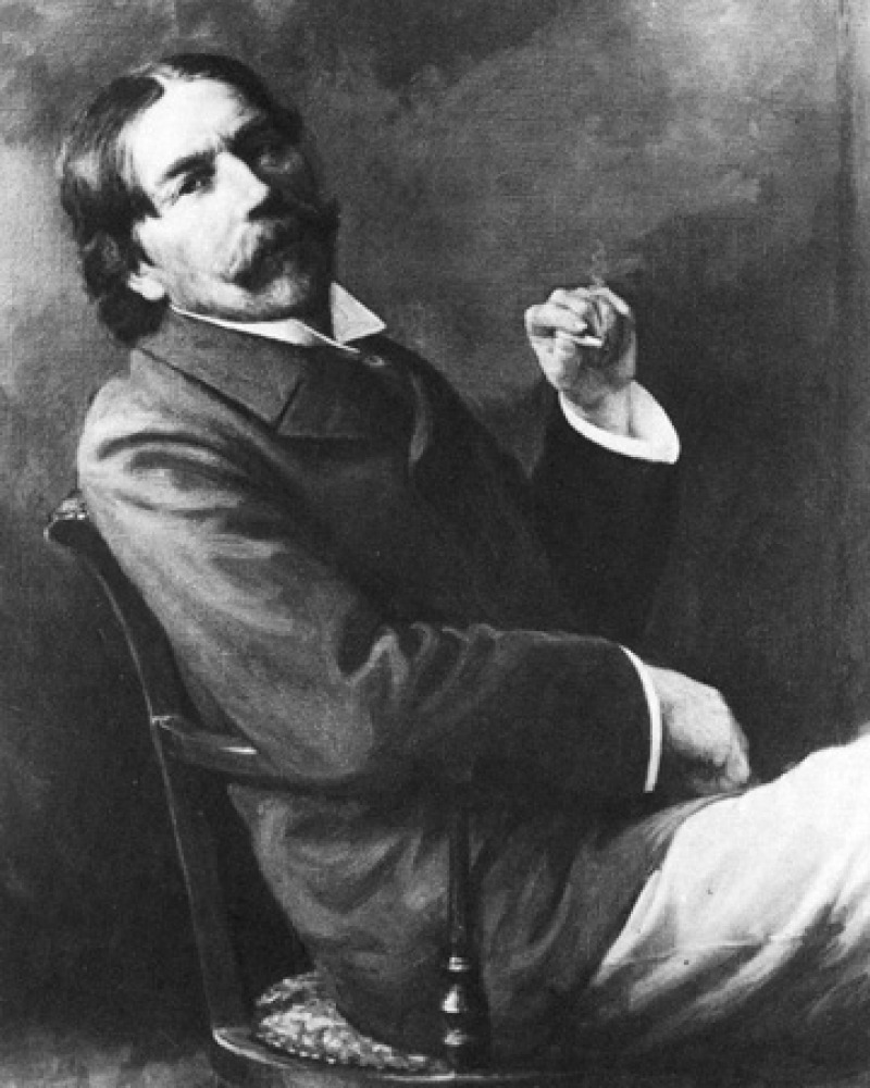 Photograph of Thorstein Veblen