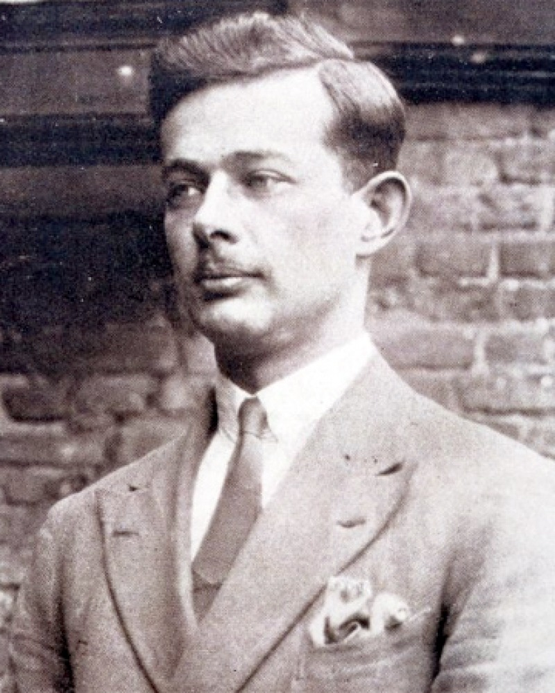 Photograph of English novelist and satirist T. H. White.