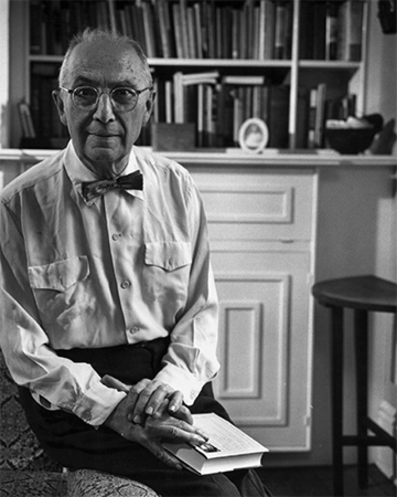 American poet William Carlos Williams.