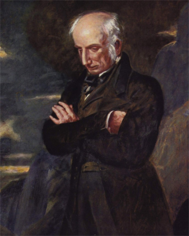 Painting of William Wordsworth.