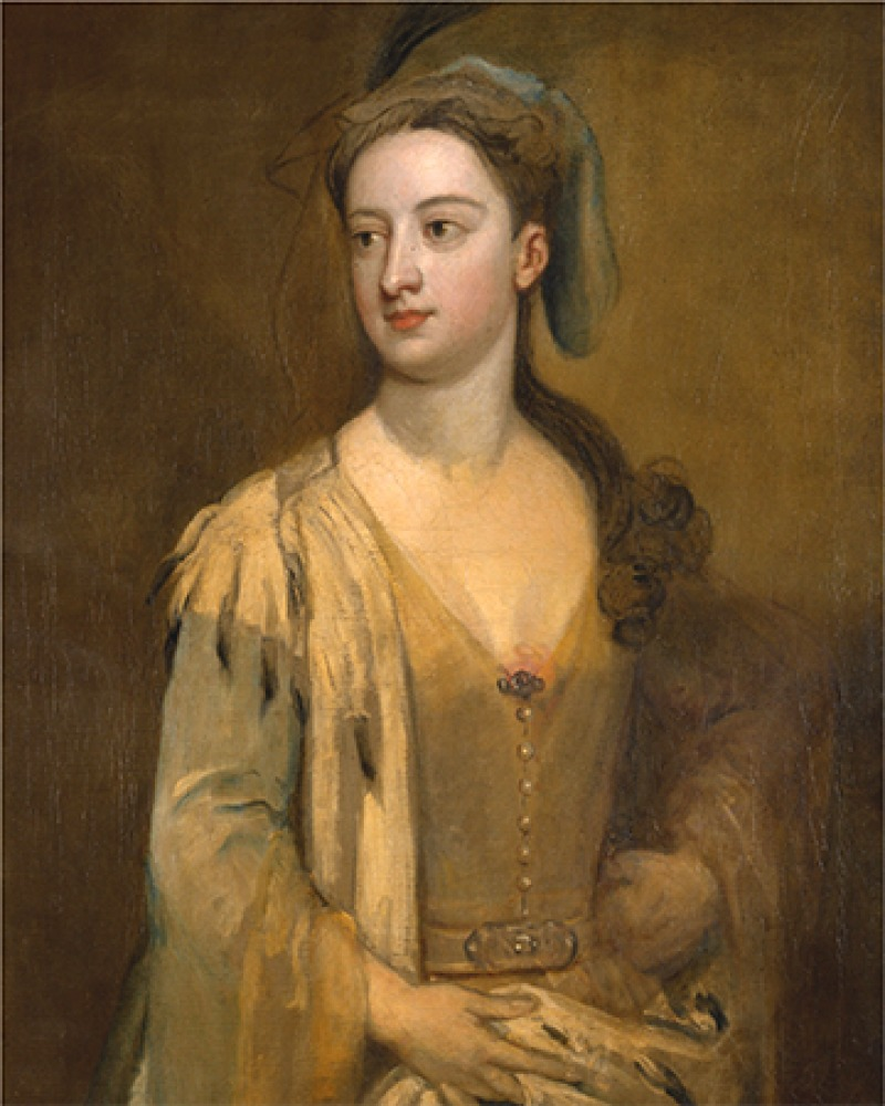 British author Lady Mary Wortley Montagu.