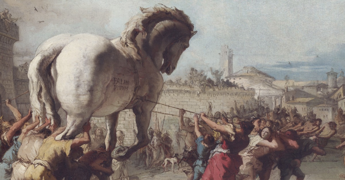 Swindle & Fraud: The Procession of the Trojan Horse ...