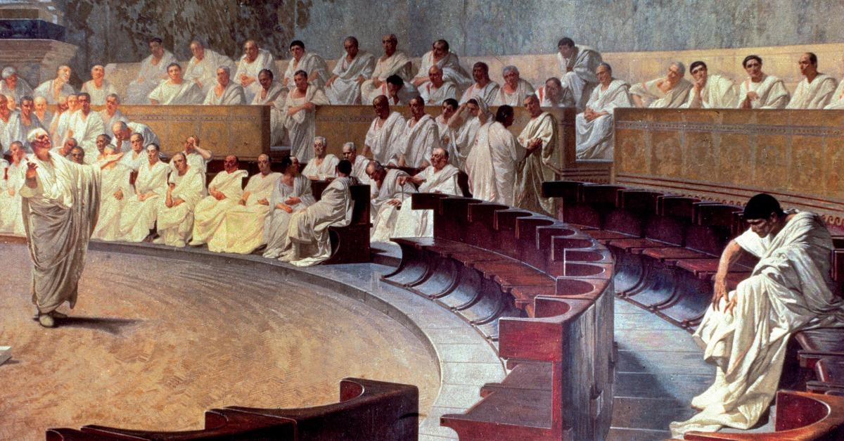 Cicero Denounces Catiline