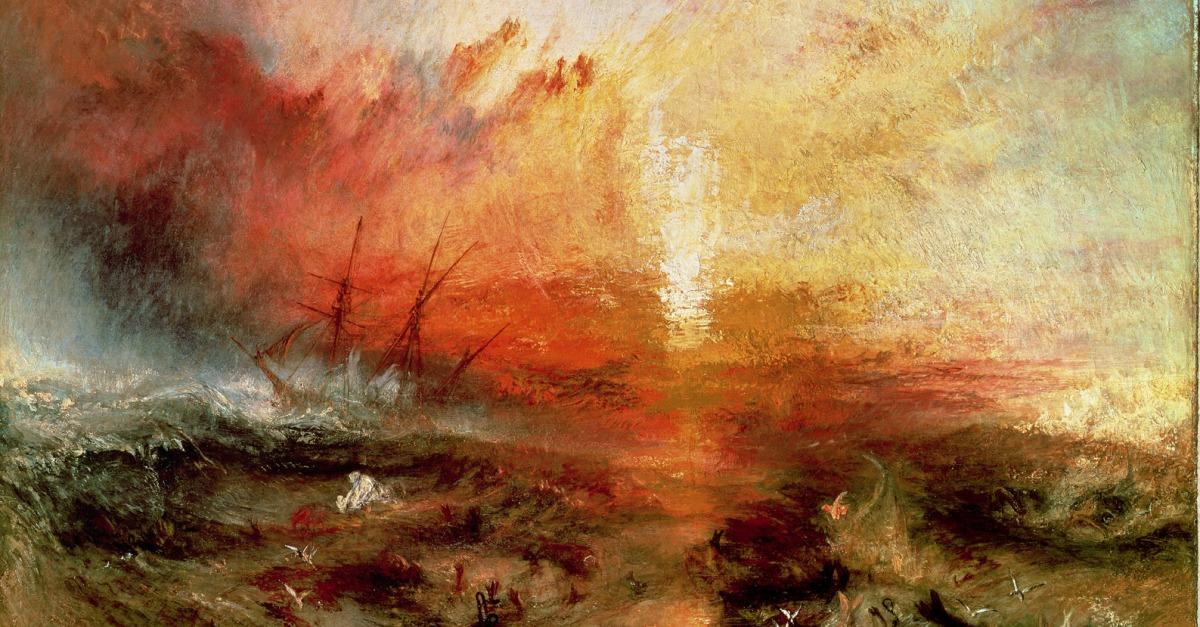 Sea  Turner Slave Ship