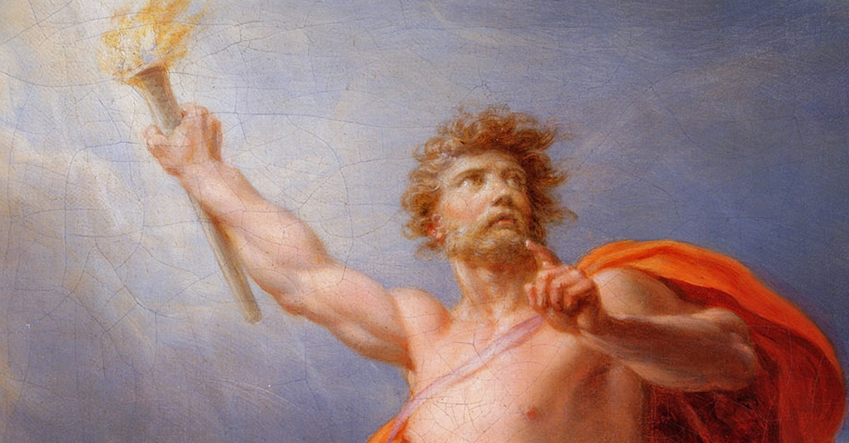 prometheus and zeus essay Prometheus bound essaysdestruction of power is unjust, destruction of corrupt power deserves justice disobeying the god of gods, zeus, a mere titan with the power.