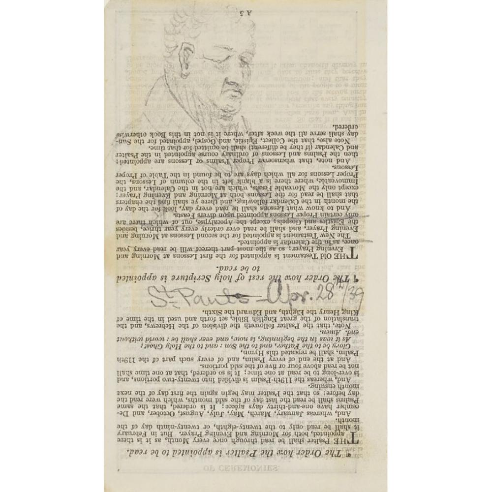 Sydney Smith, by John Marshall, 1839.
